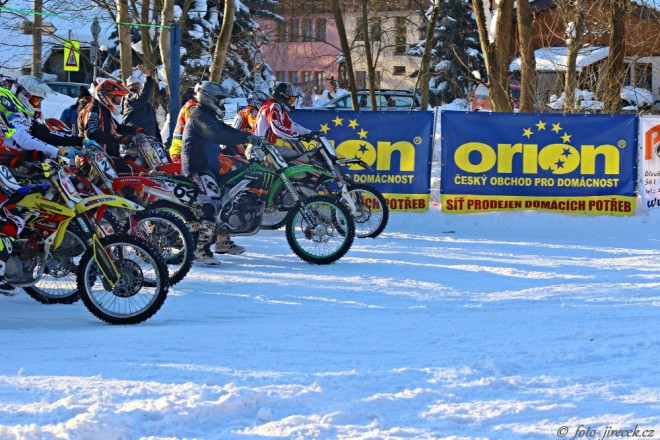 Druhý podnik MÈR v motoskijöringu uspoøádali v Rudníku