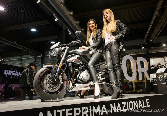 Na výstavì Motor Bike Expo v italské Veronì se sešly všechny novinky 2017