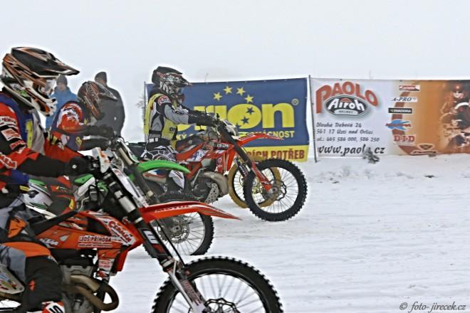 MÈR v motoskijöringu: Sobotní závod v Horním Mìstì u Rýmaøova