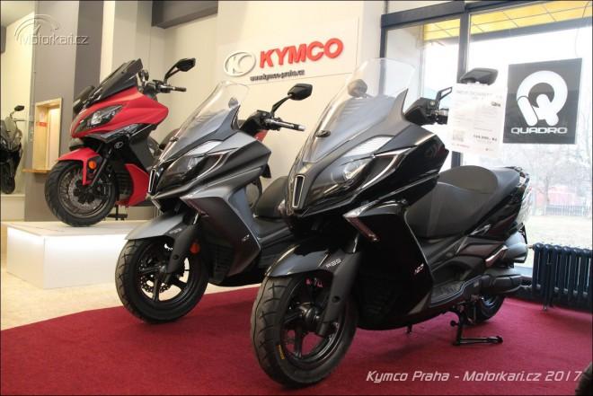 Kymco otvírá novou prodejnu v Praze a nabízí bonus k novému skútru