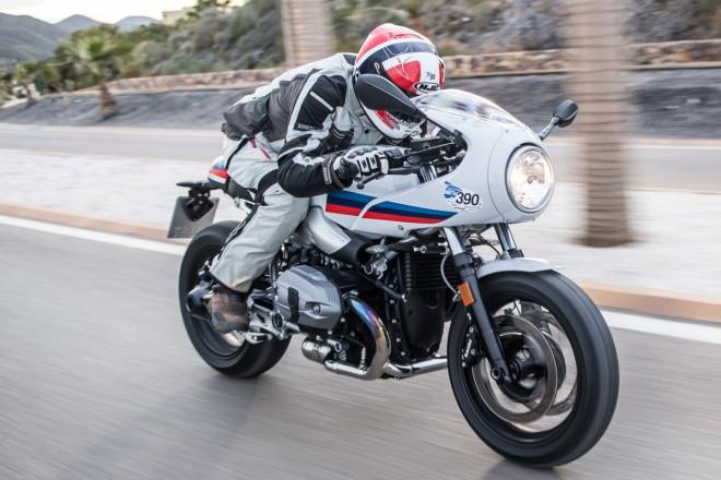 První jízda BMW R nineT Racer: Parádo trp