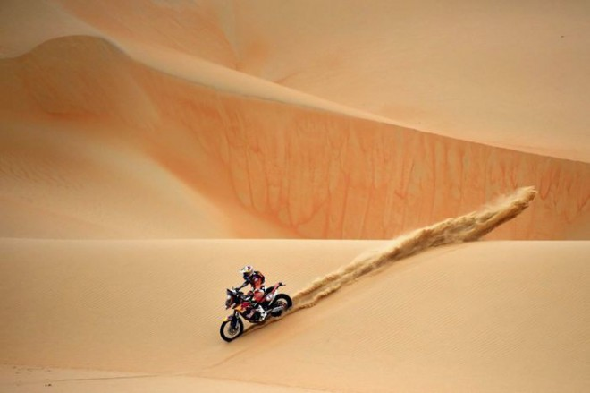 Sunderland vypadl na Dubai Baja už v 1. etapì