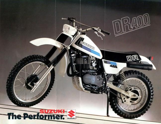 Motocykly Suzuki kategorie off-road a enduro (ètyøtaktní modely)