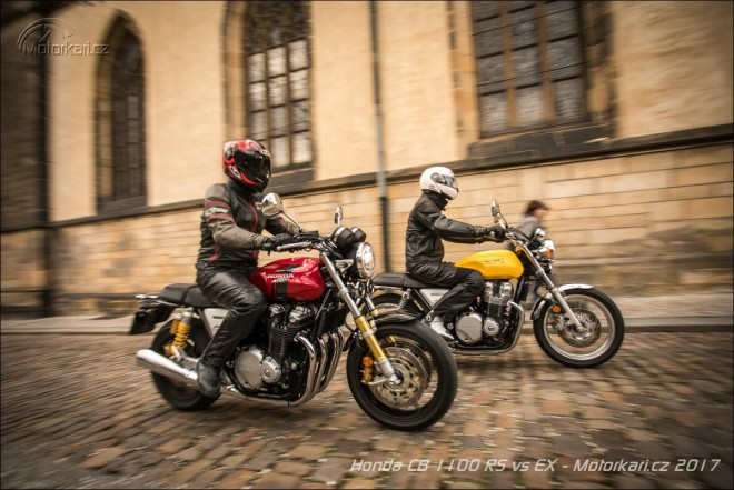 2x Honda CB 1100: RS & EX