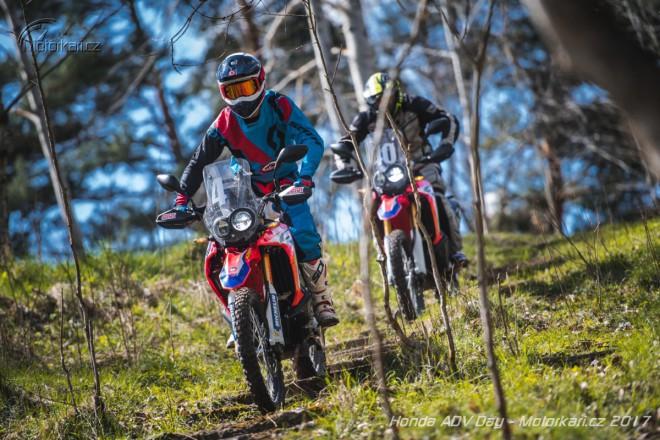 Honda ADV den: první jízda na skútru X-ADV a enduru CRF250 Rally