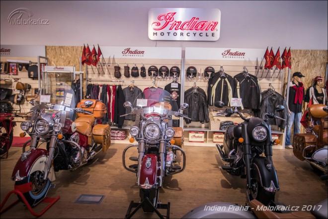Indian otevøel nový showroom v Praze