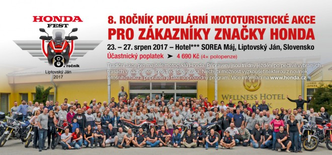 Pozvánka na akci: osmý Honda Fest se blíží