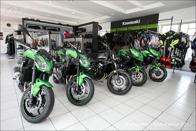 Kawasaki v Èeských Budìjovicích již 10 let
