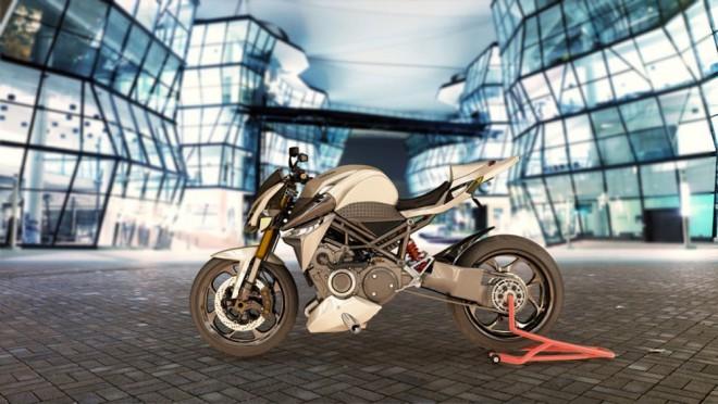 Furion: koncept superbiku s hybridním pohonem