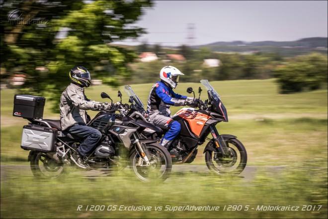 KTM 1290 Super Adventure S vs. BMW R 1200 GS Exclusive: Každý po svém