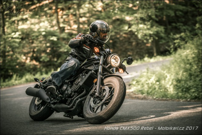 Honda CMX500 Rebel: it´s a bobber, baby