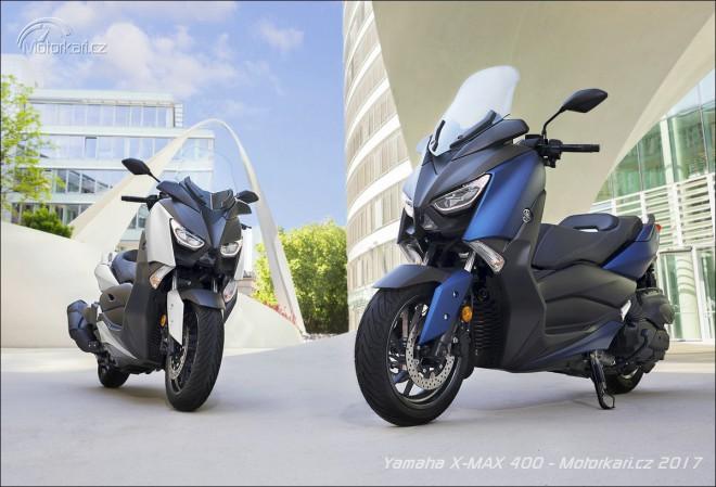 Yamaha ukázala inovovaný X-Max 400