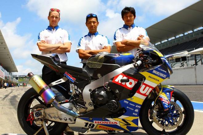 V tøídenním testu zajeli nejrychleji jezdci stáje Moriwaki Motul Racing
