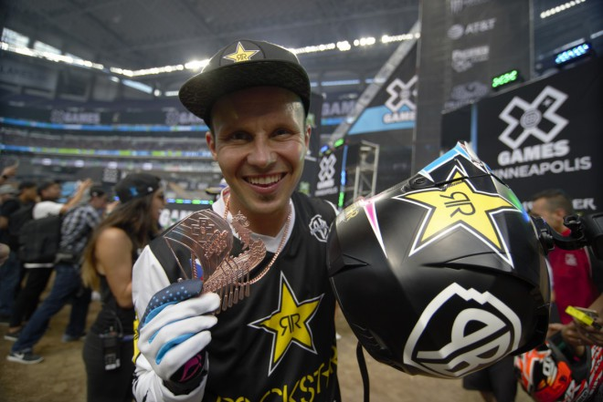 Libor Podmol si odváží z X-Games bronzovou medaili