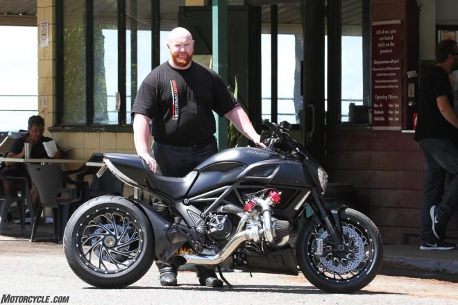 Ducati Diavel Turbo: Rudý ïábel na steroidech