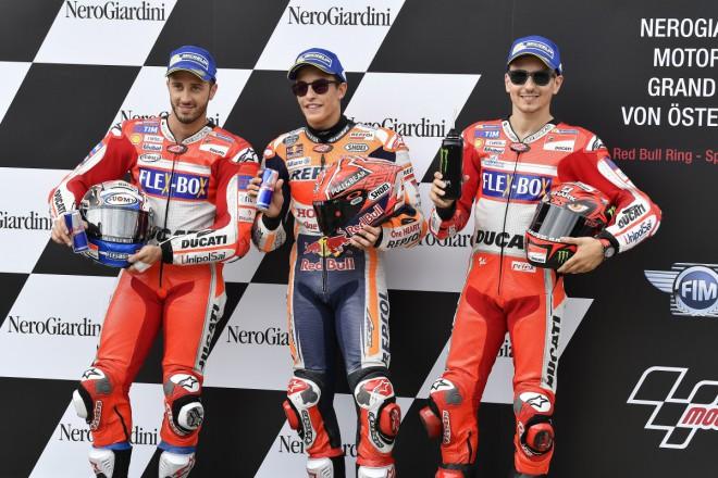 Ohlasy po rakouské kvalifikaci MotoGP