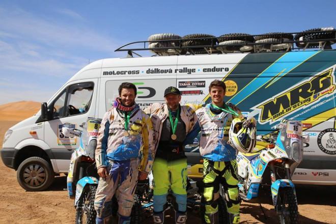 Sestava týmu MRG pro Dakar 2018 je jasná