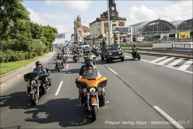 Reportáž: Prague Harley Days 2017