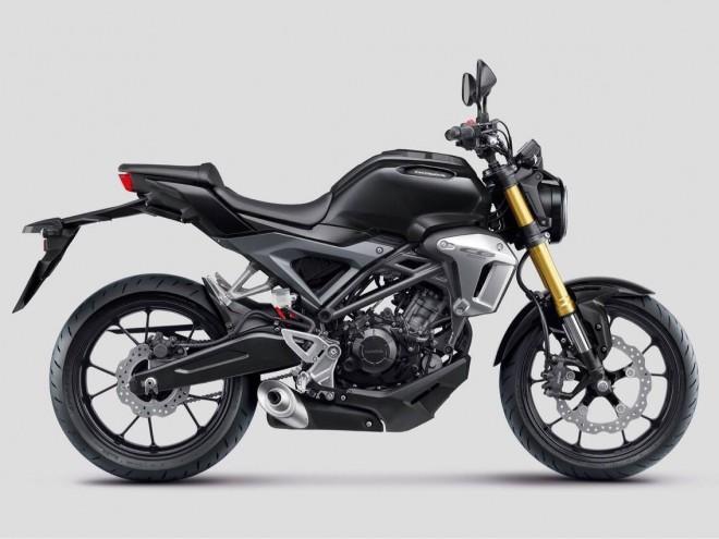 Honda ukazuje novou CB 150R urèenou pro asijské trhy