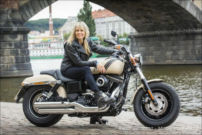 Rozhovor s Karen Davidson, Born to Ride