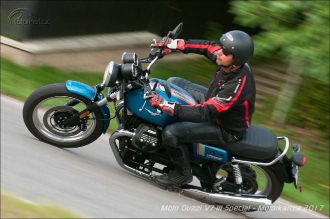 Moto Guzzi V7 III Special: charismatický padesátník