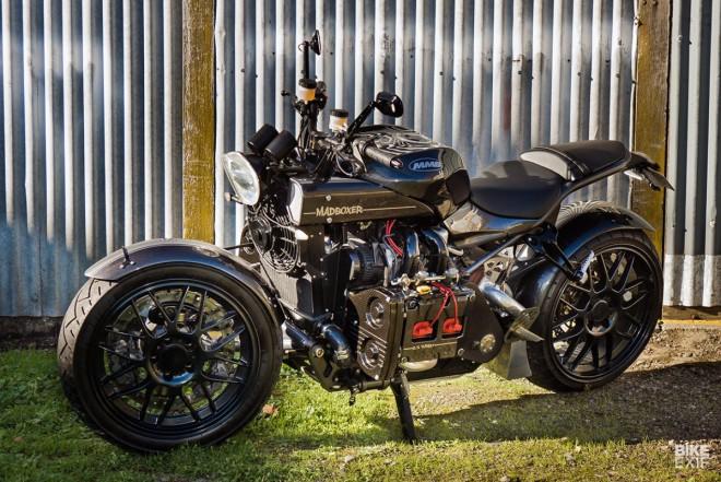 Motorka s turbomotorem Subaru – to je Madboxer