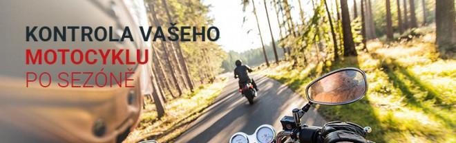 Kontrola Vašeho motocyklu po sezónì u SMRŽ MOTO
