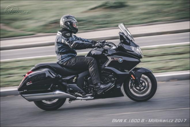 BMW K 1600 B: Šestiválcový Bagger