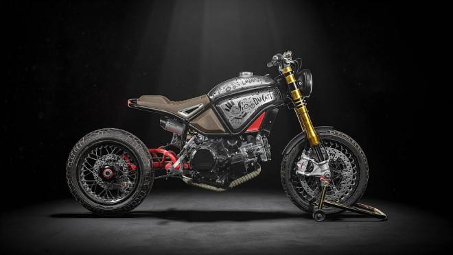 Ducati Panigale jako základ pro Naughty Quadro