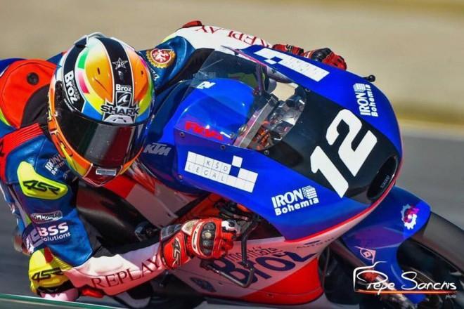 Filip Salaè po závodu FIM CEV Repsol v Aragonii