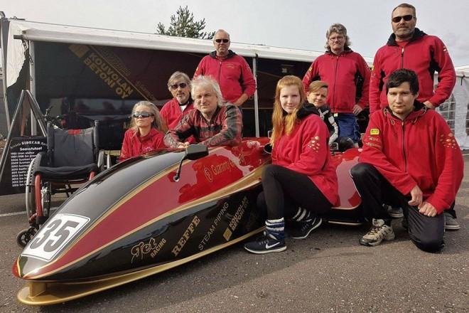 Závìr sezony International Sidecar Trophy v Oscherslebenu