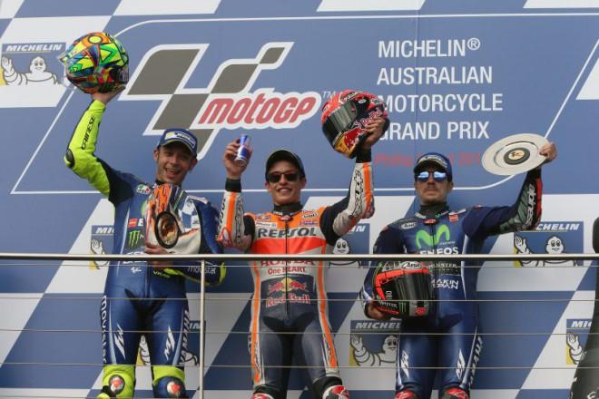 Ohlasy po závodì Moto GP v Austrálii