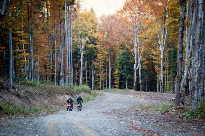 Podzimní výjezd na motorce