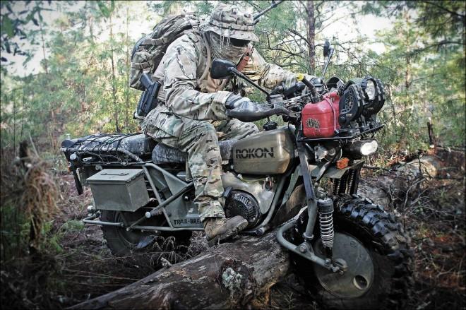 Motocykly Rokon – svébytná cesta terénem