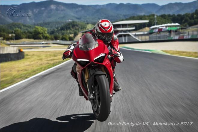 Ducati ukázala novou Panigale V4