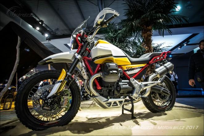 Moto Guzzi pøekvapila konceptem cestovního endura