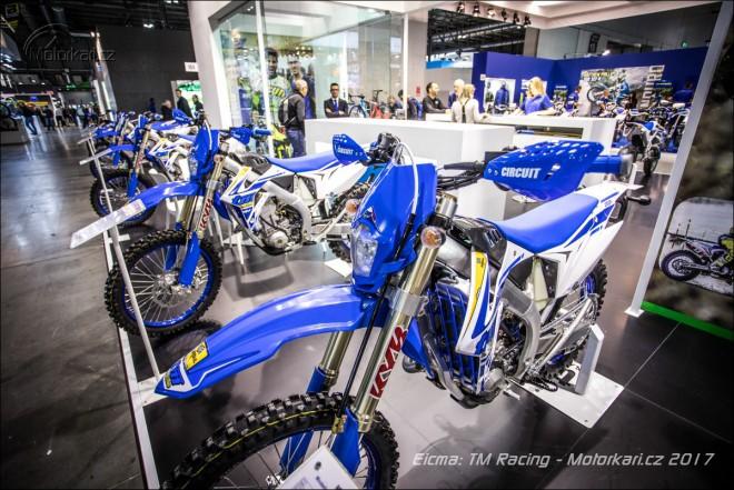Eicma: TM pøedstavilo motokrosovou dvìpade MX 250 FI