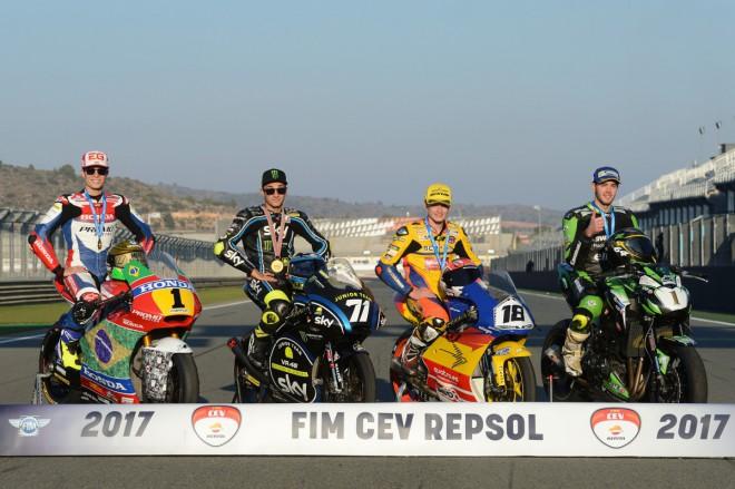 FIM CEV Repsol – Titul Moto2 slaví Granado, ETC vyhrál Gonzalez