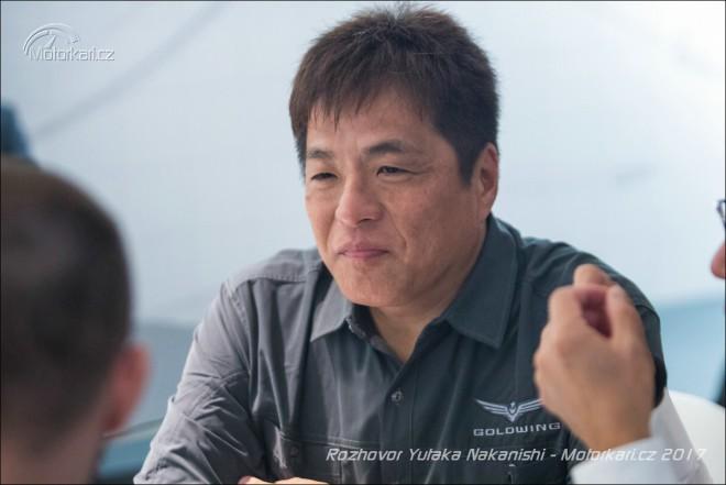 Mini rozhovor s Yutaka Nakanishi, vedoucím projektu GL1800 Gold Wing