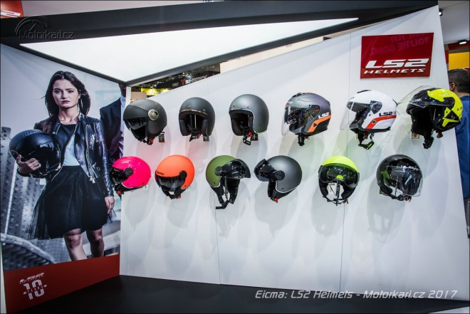 Eicma: Co na hlavu – LS2, Nolan group, Bell, Premier