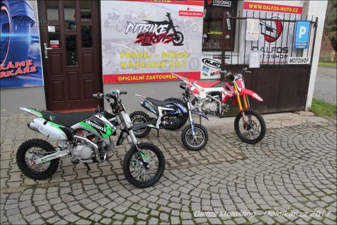 Dalfos moto: od pitbiku Stomp až po závodní motocykly TM Racing