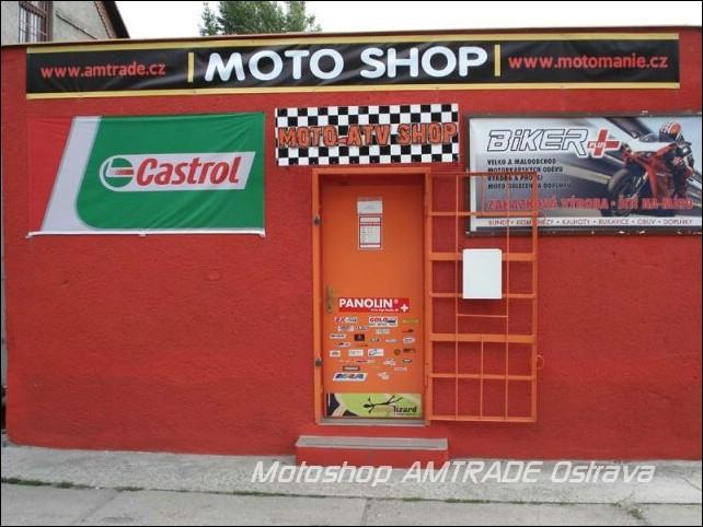 Motoshop AMTRADE Ostrava – výprodej skladu