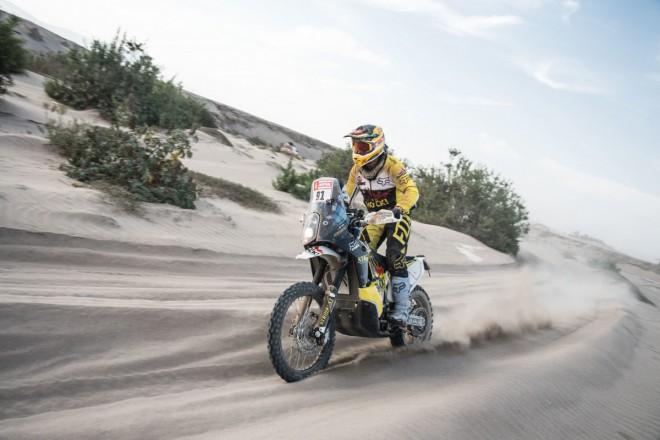 Jak Jan Brabec klepal na Dakaru kosu