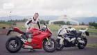 Videotest: Ducati 1199 Panigale S vs BMW S1000RR