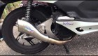 Honda PcX 125 vyfukovy system LeoVince Cobra Racing