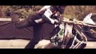 Street bike freestyle rider