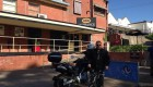 Hahndorf by a motorcycle