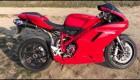 Ducati 1098 zvuk Termignoni full system