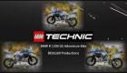 LEGO technic BMW r1200gs movie 2017