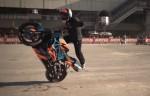 Martin Krátký na výstavì Motor Bike Expo ve Veronì